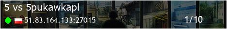 ▓█ [PL] CS-TYRALNIA.PL [5vs5] 128TR Skiny|Kosy|Rekawiczki @