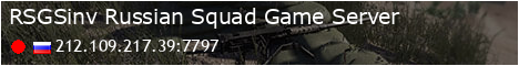  RSGSinv  Russian Squad Game Server