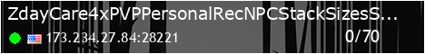 ZdayCare|4x|PVP|PersonalRec|NPC+|StackSizes|Shop|TP
