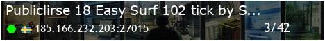 Publiclir.se #18 Easy Surf [Tier 1] [102.4tick] !WS !Knife !Glo