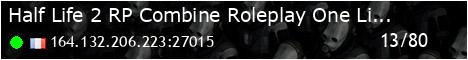 [FR] Half-Life 2 RP (HL2RP)[One-Life]