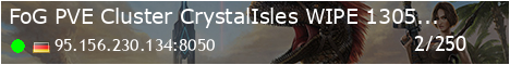 [FoG] PVE Cluster - Crystal Isles - (v327.19)