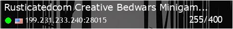 Rusticated.com Sandbox - Creative   Minigames   Bedwars